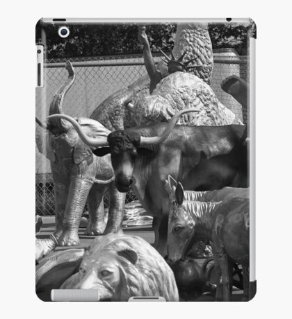 Route 66 - Mule Trading Post iPad Case/Skin