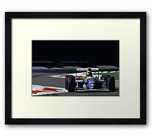 Damon Hill - Williams FW15C Framed Print
