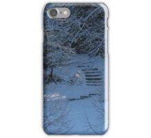 Cutting through the snow iPhone Case/Skin