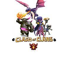 Clash of clans dark theme by friedmos