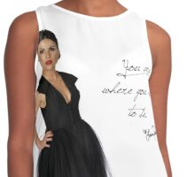 you are where you need to be Contrast Tank