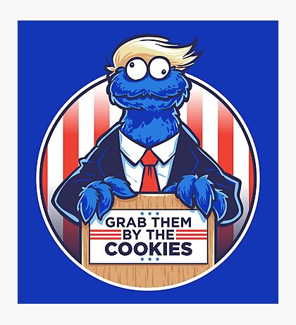 Grab Them By The Cookies Photographic Print