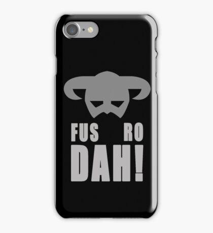 Skyrim- Fus-Ro-Dah!  iPhone Case/Skin