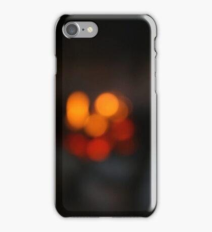 Blurred Fire  iPhone Case/Skin
