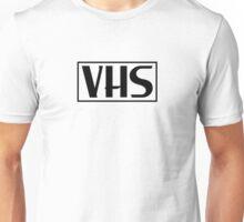 VHS Logo Black Unisex T-Shirt