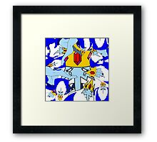 An Ode to the Ice King Framed Print