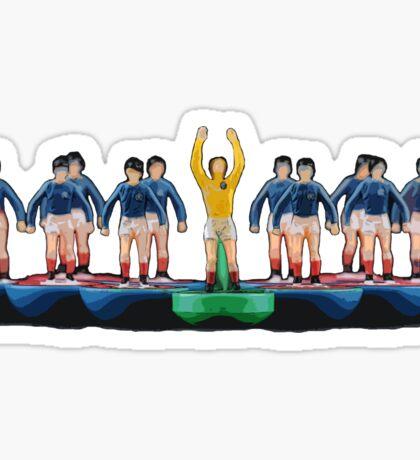 Glasgow Rangers '72 subbuteo design Sticker
