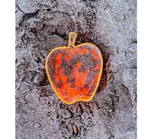 Apple on the Beach - part 7 Photographic Print