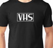 VHS Logo White Unisex T-Shirt