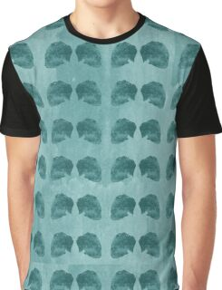 Hedgehog Aqua Graphic T-Shirt