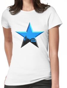Geordie Star Womens Fitted T-Shirt