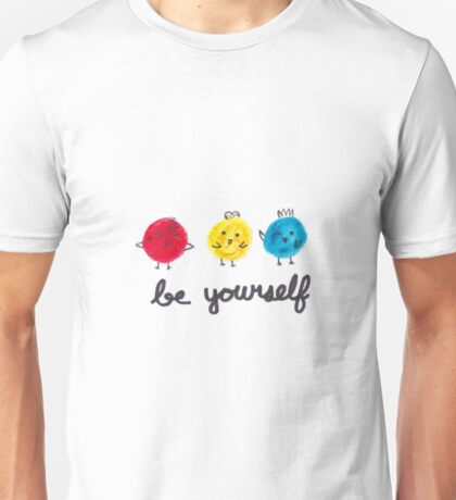 Be Yourself Birds Unisex T-Shirt