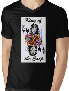 King of the Coop ( for dark shirts) Mens V-Neck T-Shirt