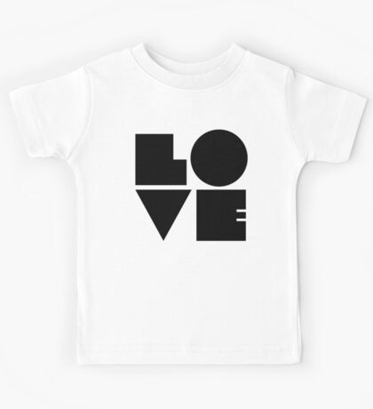 RETRO LOVE. Kids Tee