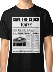 Save the clock tower fan art Classic T-Shirt