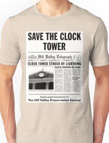 Save the clock tower fan art Unisex T-Shirt