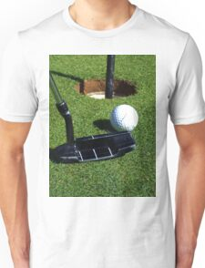 Golf, The Game That Makes Eagles. Unisex T-Shirt