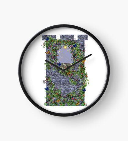 Fairytale tower Clock