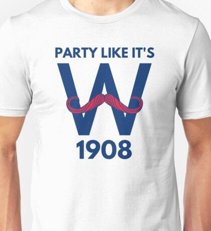 Chicago Cubs World Series Winners 2016 1908 Unisex T-Shirt