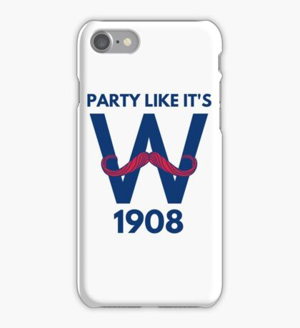 Chicago Cubs World Series Winners 2016 1908 iPhone Case/Skin