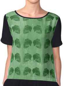 Hedgehog Green Chiffon Top