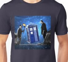 Doctor Who? Frankenstein? Unisex T-Shirt