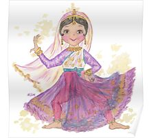 South Asian Dancing Doll Poster
