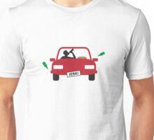 A drunk driver Unisex T-Shirt