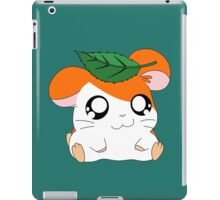 Hamtaro with Leaf iPad Case/Skin
