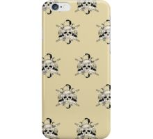 Bad 2 The Bones (Pattern 5) iPhone Case/Skin