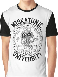 MISKATONIC UNIVERSITY HP LOVECRAFT  Graphic T-Shirt