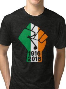 Ireland 1916 Power Fist Tri-blend T-Shirt