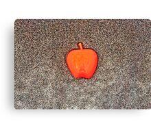 Apple on the Beach - part 10 Canvas Print