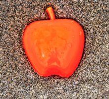 Apple on the Beach - part 10 Sticker