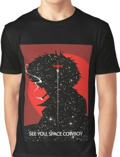 """Cowboy Bebop """"See you Space Cowboy"""" (Spike Spiegel) Graphic T-Shirt"""
