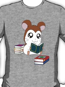 Maxwell with Books T-Shirt