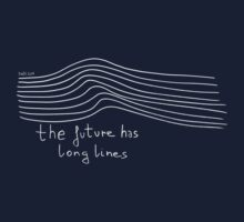 Nada Surf - The Future has long lines. White vectorial version. by TotalPotencia
