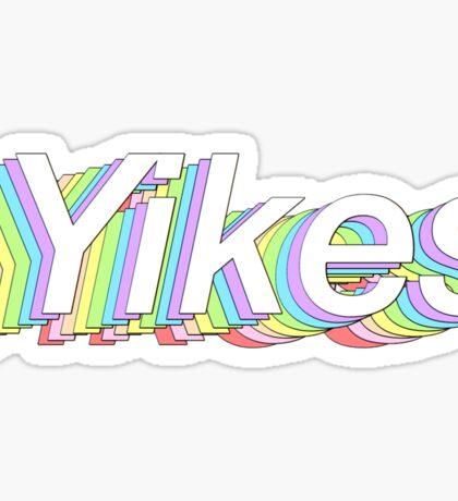Tumblr Yikes sticker Sticker