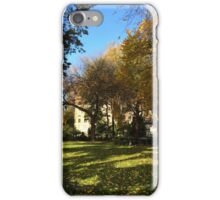 Autumn Colors, Union Square, New York City iPhone Case/Skin