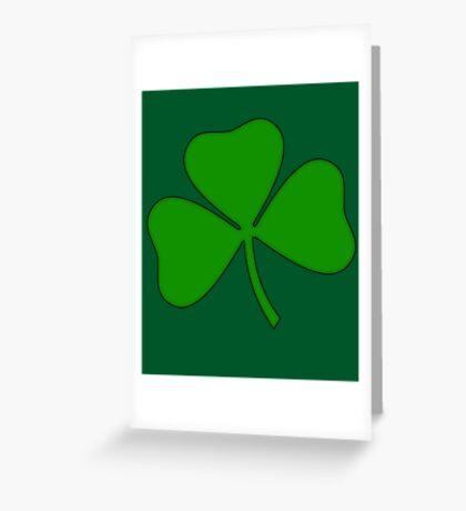 Ireland Irish Shamrock Greeting Card