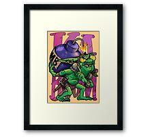 Ka-BOOM Framed Print