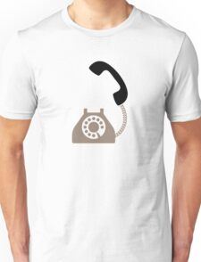 An old telephone Unisex T-Shirt
