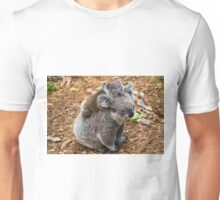 Australian koala bear native animal with baby Unisex T-Shirt