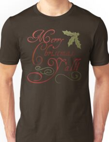 Merry Christmas, Y'all! Unisex T-Shirt