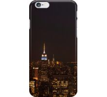 New York City - Empire State building by night iPhone Case/Skin