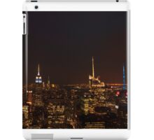New York City - Empire State building by night iPad Case/Skin
