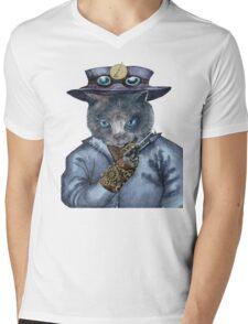 Captain Nemo Mens V-Neck T-Shirt