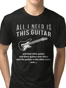 Love Guitar T-shirt Tri-blend T-Shirt