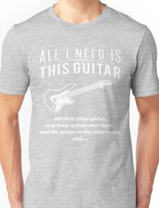 Love Guitar T-shirt Unisex T-Shirt