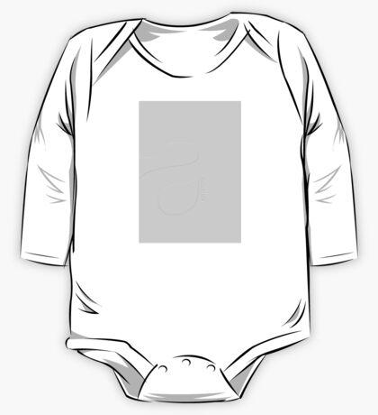 Minimalist Helvetica One Piece - Long Sleeve
